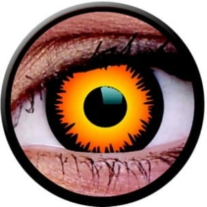Crazy Lens RX - Orange Werewolf, 2 szt.