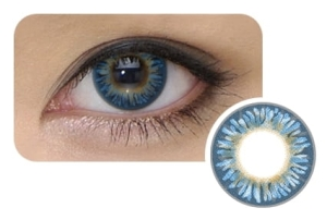 Cool Look 3-tone Blue, 2 szt.