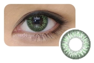 Cool Look 2-tone Green, 2 szt.