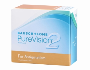 PureVision 2 for Astigmatism, 6 szt.
