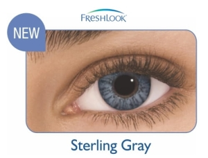 FreshLook ColorBlends Sterling Gray, 2 szt.