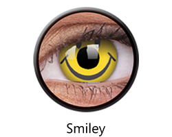 Crazy Lens - Smiley, 2 szt.