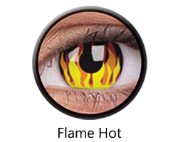 Crazy Lens - Flame Hot, 2 szt.