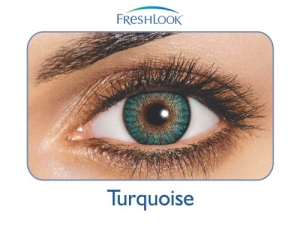 FreshLook ColorBlends Turquoise, 2 szt.