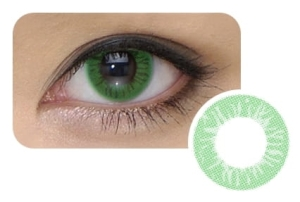 Cool Look 1-tone Emerald Green, 2 szt.